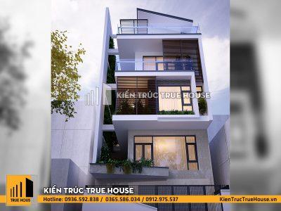 Nhà lô phố 5 tầng hiện đại thp007