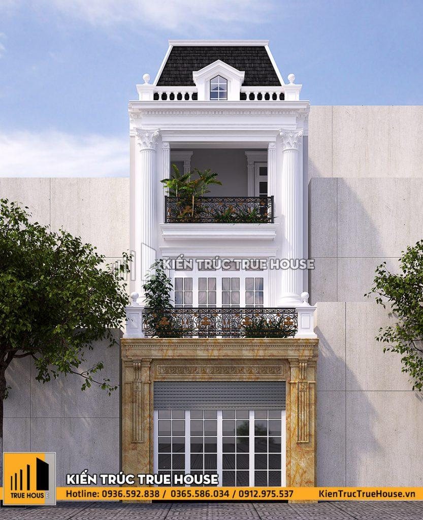 Nhà phố 3 tầng mặt tiền 5m thp003