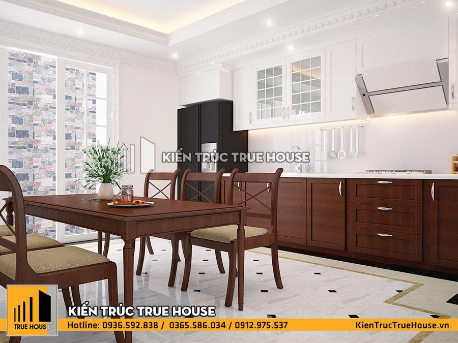 Bộ bàn ăn bằng gỗ đẹp