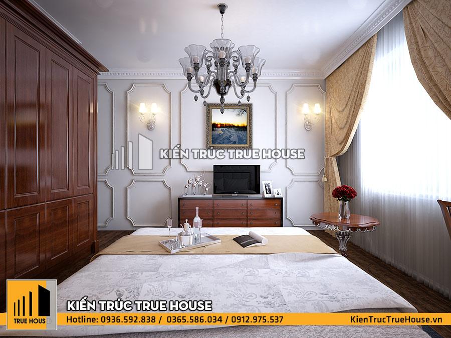 Phòng ngủ kiểu cổ điển