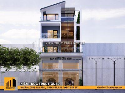 Thiết kế nhà đẹp kết hợp kinh doanh tại Hải Dương
