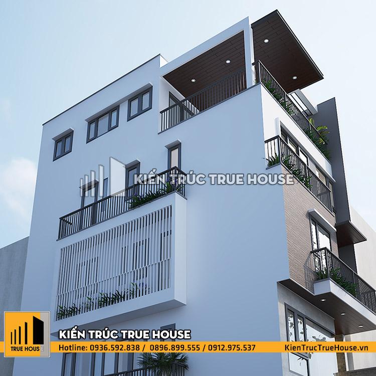 Nhà ở 5 tầng hiện đại THP 037