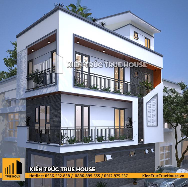 Nhà phố hiện đại 50m2 THP 040