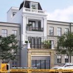 Nhà phố pháp mặt tiền 5m THP 039