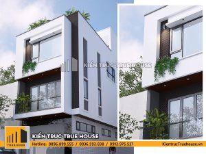 Nhà ở gia đình 3 tầng THP 041