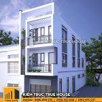 Nhà ở gia đình 3 tầng hiện đại thp 042
